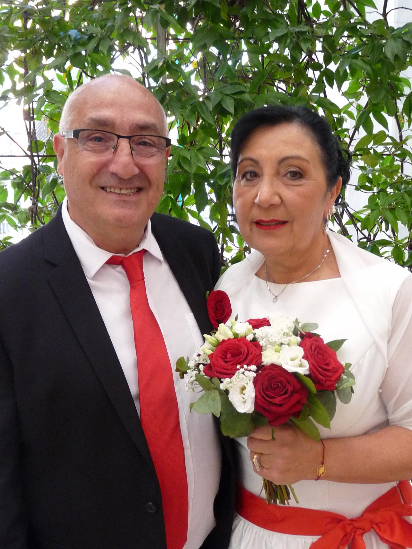 Vincenzo Magaletti, sans emploi, et Isabelle Cocco, agent administrative.