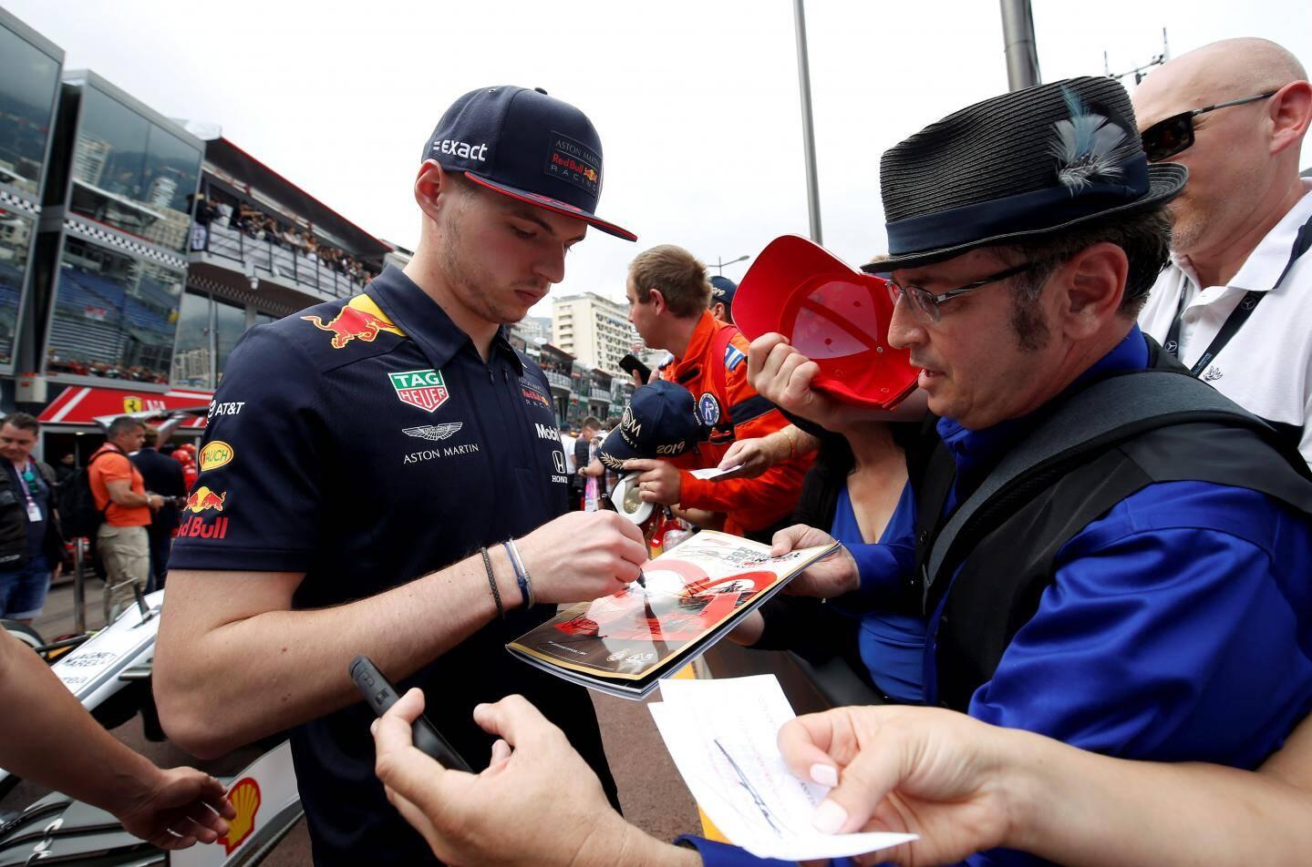 Max Verstappen (Red Bull) a fait un passage plutôt discret.