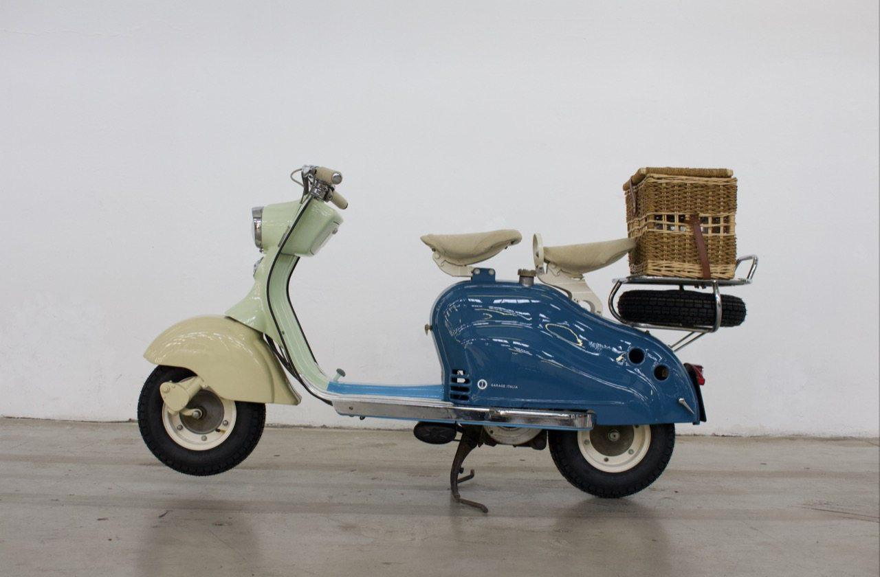 ... Une Lambretta de 1957...(DR)