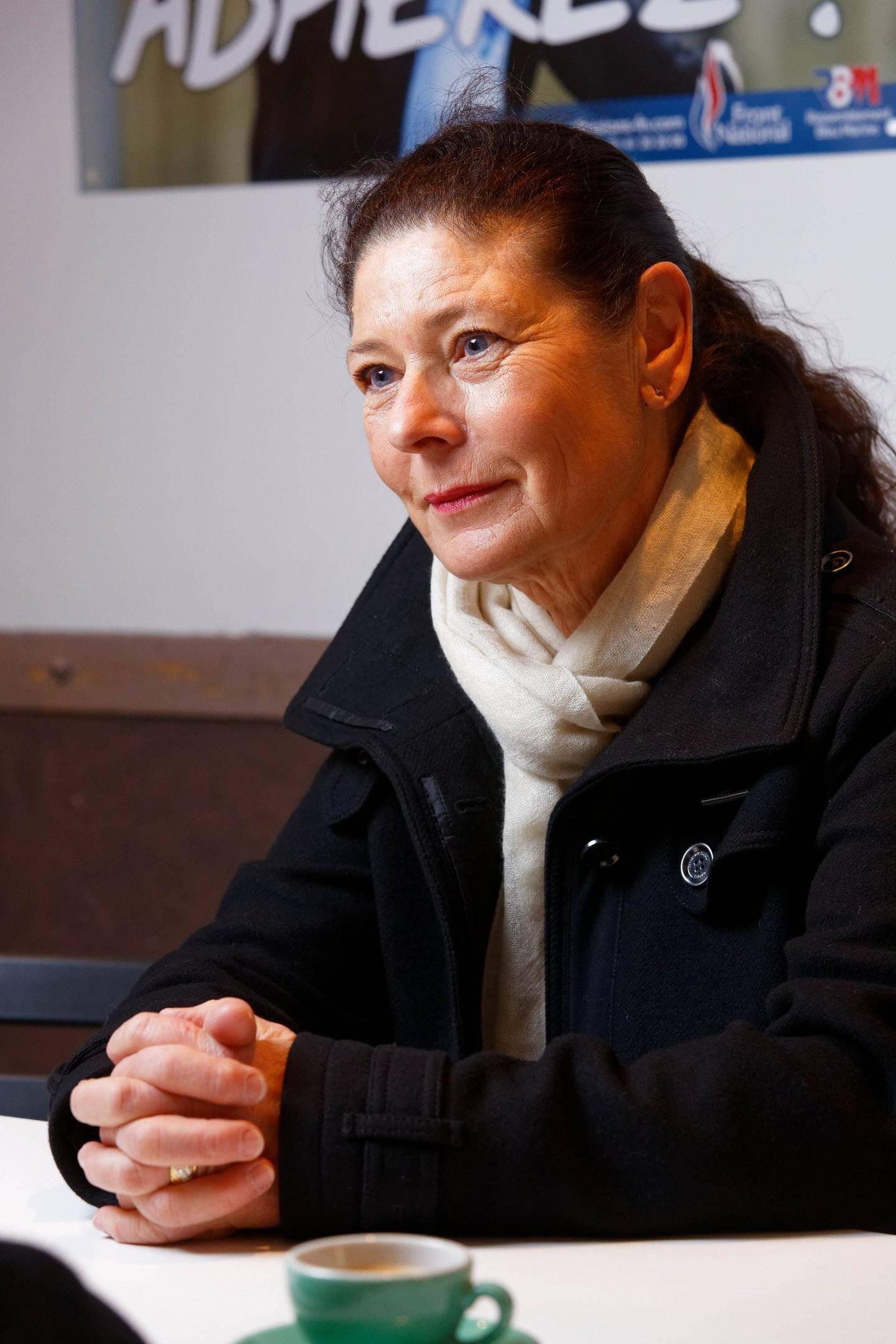 La conseillère régional RN Muriel Fiol