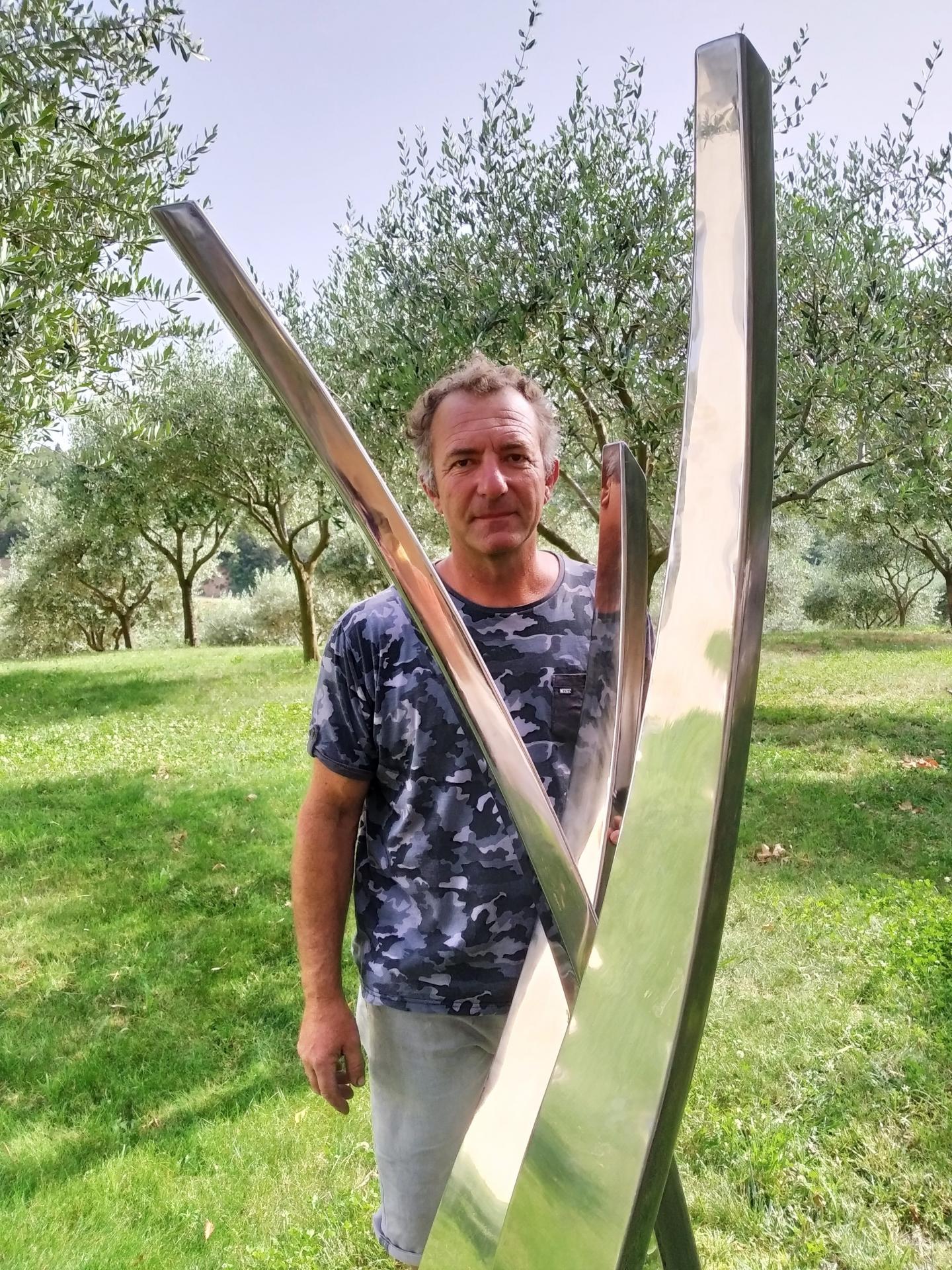 L'artiste Eric di Fruscia