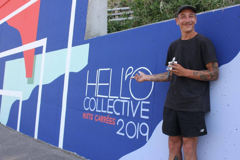 Jérôme Meynen, peintre des Hell'o Collective