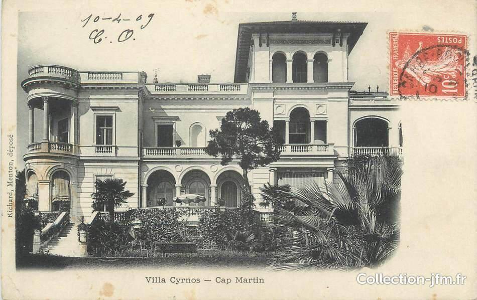La villa de l'impératrice Eugénie.