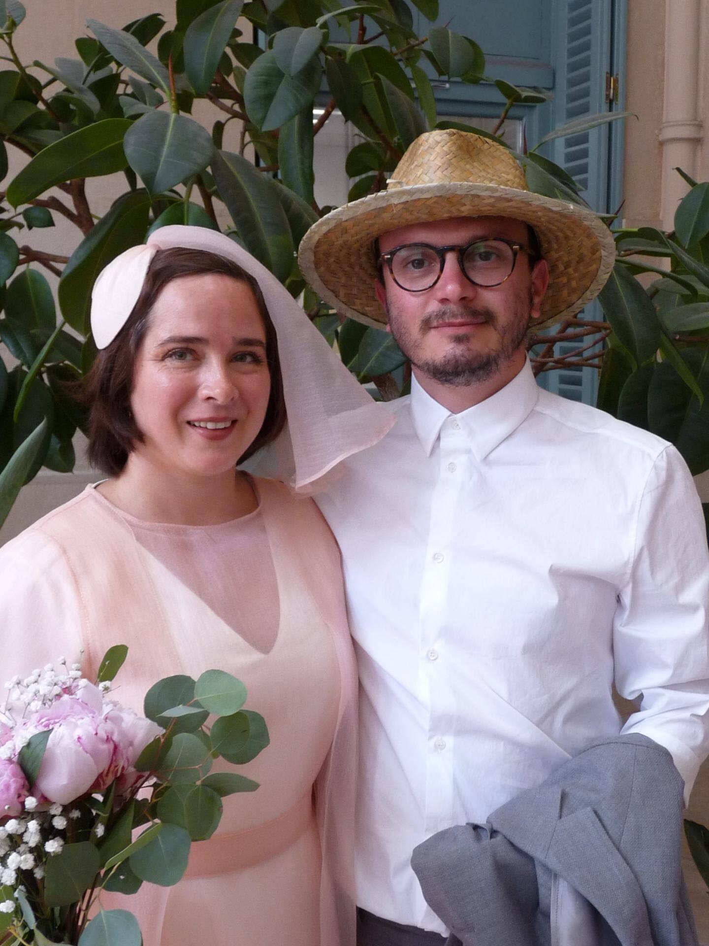 Fanny Serée, employée à la commission européenne, et Yll Rugova, graphiste.