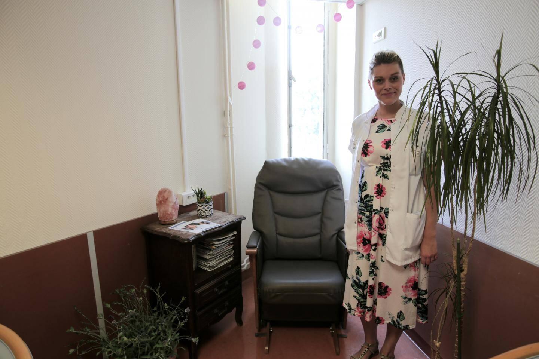 """Anne-Julie Vaillant-Ciszewicz: """"Des travaux menés au Québec ont montré que le bercement permettait de réduire les troubles du comportement et de l'humeur"""""""