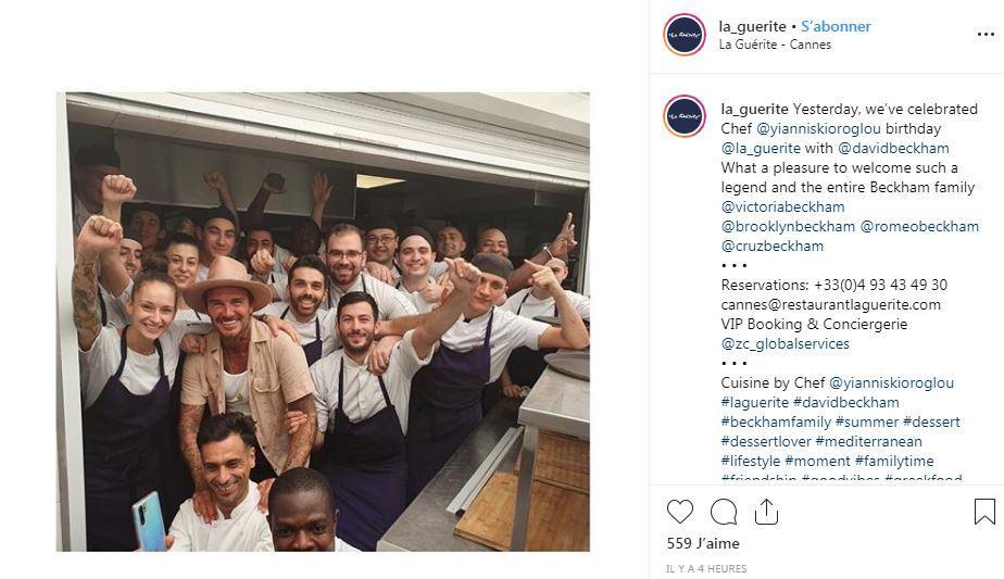 David Beckham à La Guérite