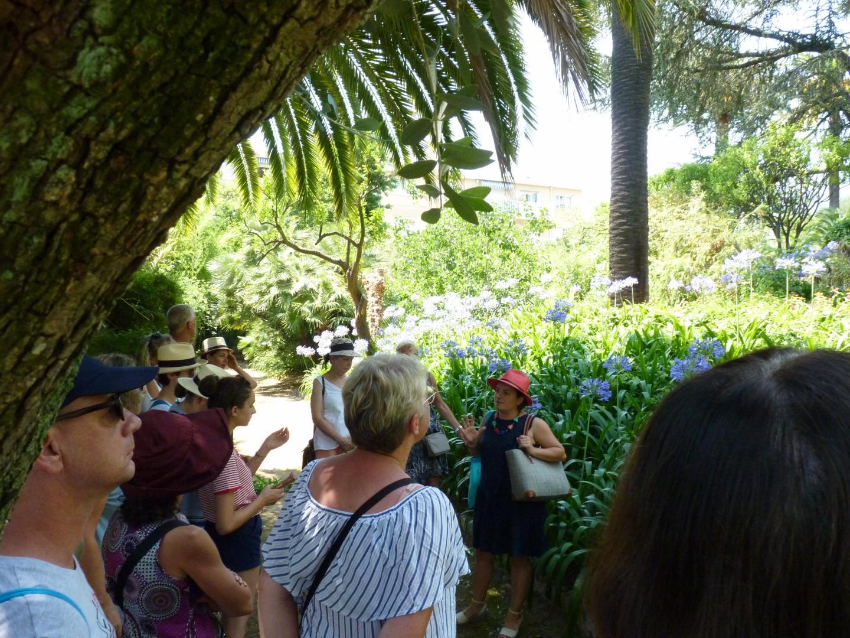 Les jardins du Riviera Palace de Menton