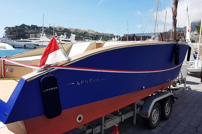 Ce bateau est 100 % propre, de la coque au moteur. (DR)
