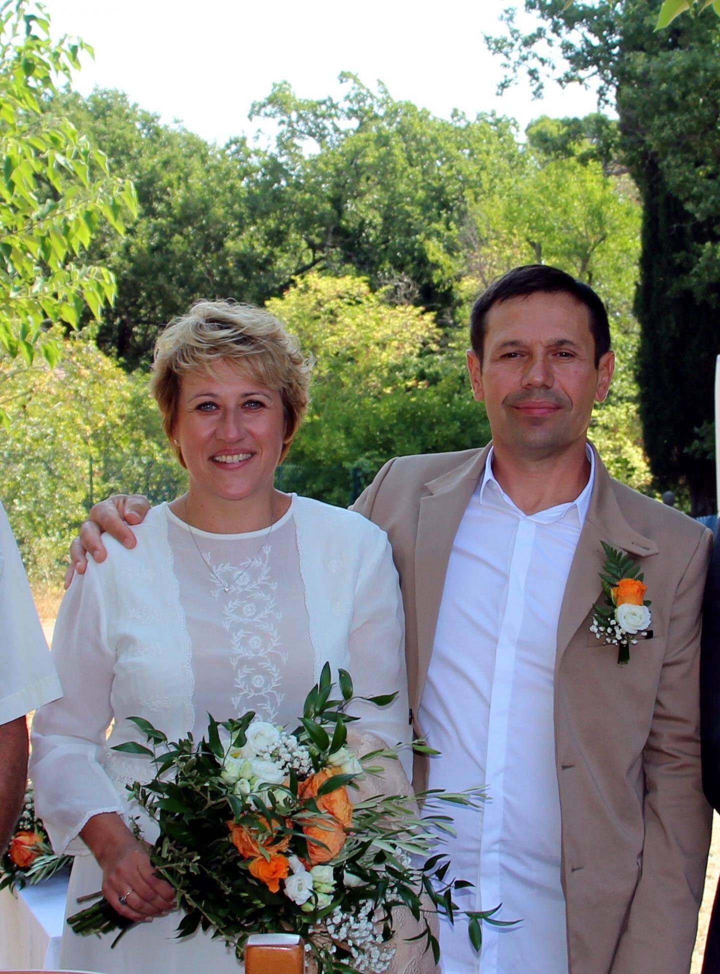 Céline et Laurent à Artigues.