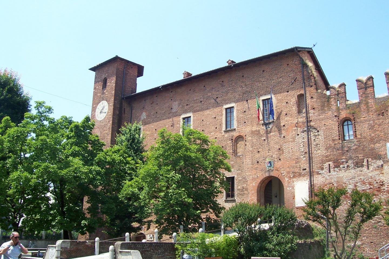 Le château de Binasco, près de Milan, où a eu lieu l'exécution de Béatrice.