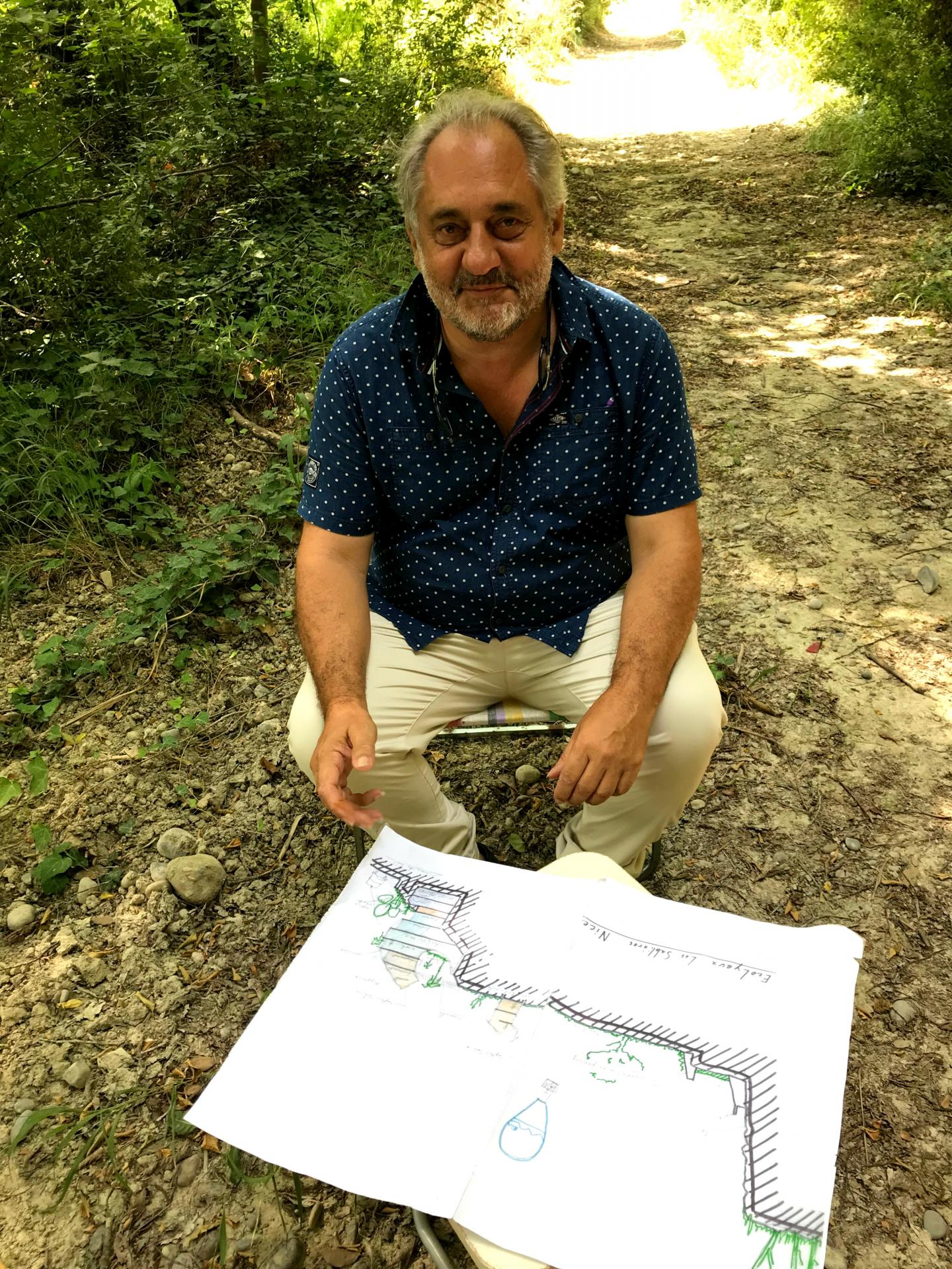 Michel Regis, architecte du projet.
