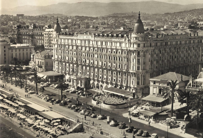 L'hôtel Carlton à Cannes, où logeait Grace.