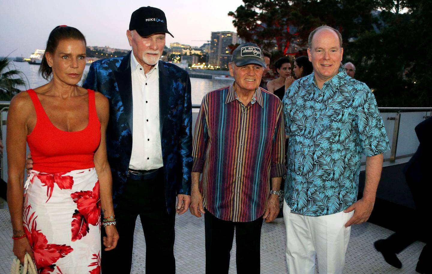 Ambiance « Good Vibrations » le 12 juillet pour le concert des Beach Boys au profit de Fight Aids Monaco.