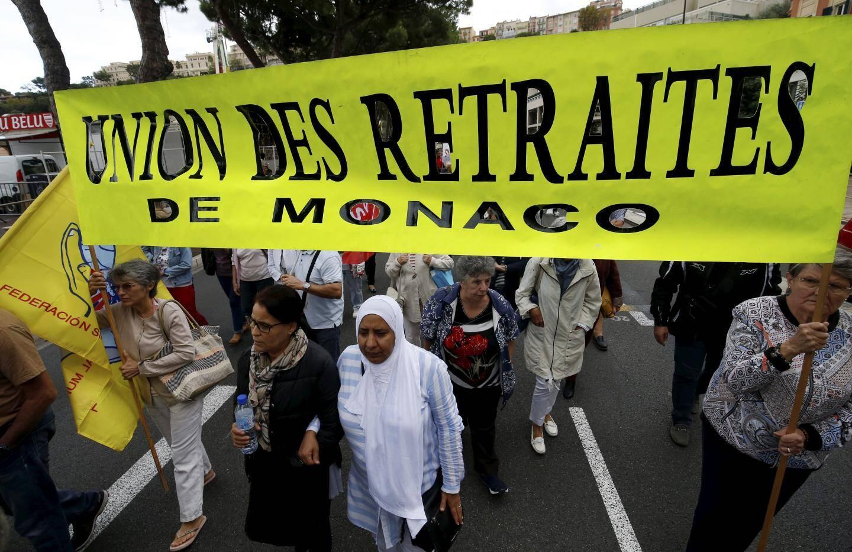 Les retraités manifestaient pour le maintien aux caisses sociales.