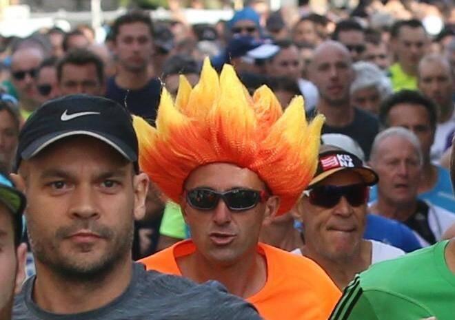 Dans ce genre de course, on croise tous les styles de coureurs.