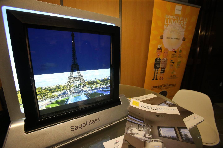 La société SageGlass met au point des fenêtres adaptatives et connectées.