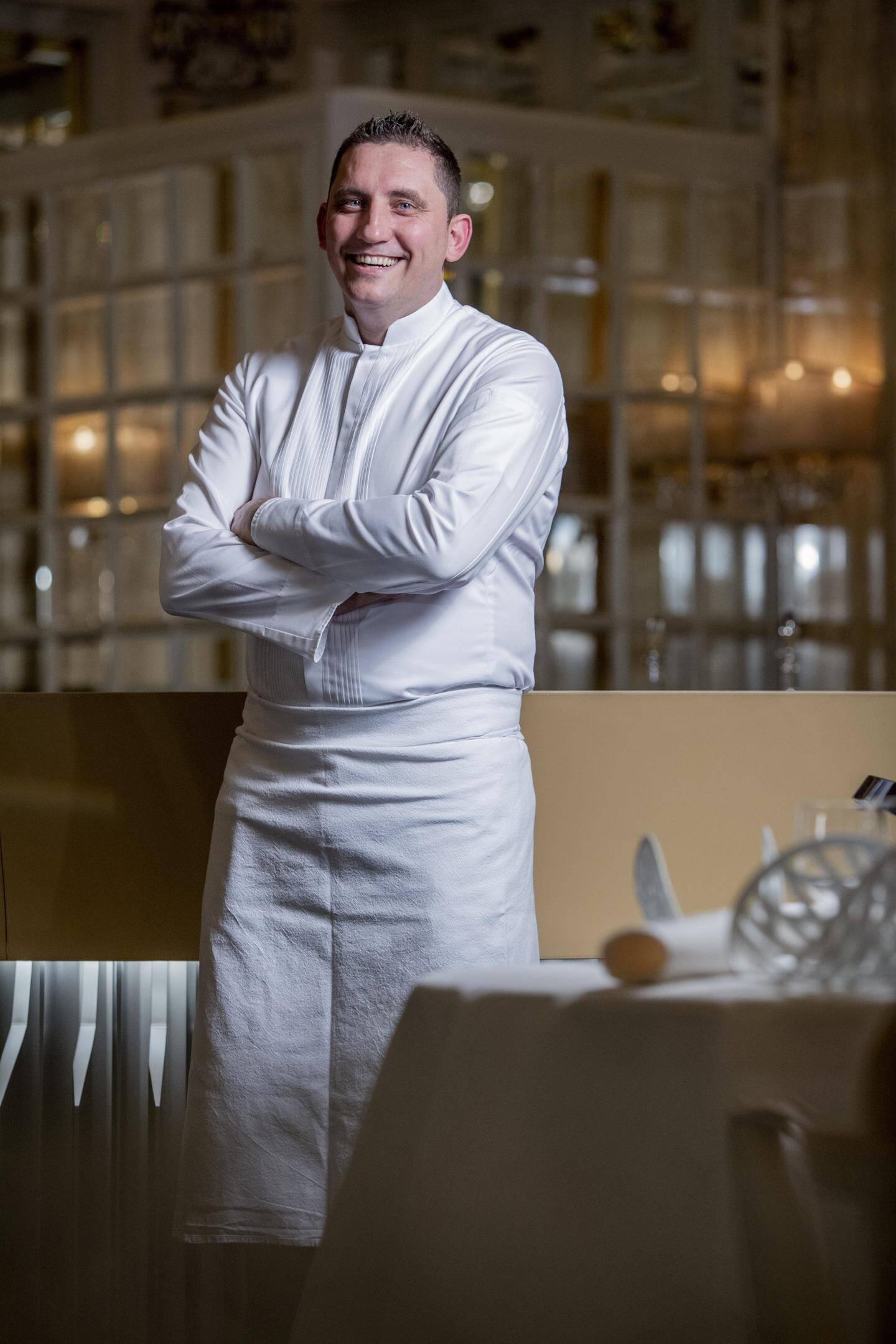 Dominique Lory, chef de cuisine