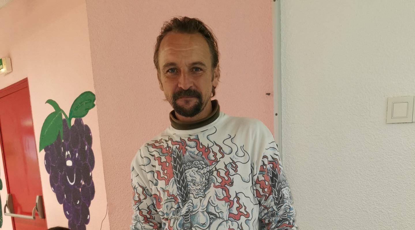 Christophe Cognard, de La Roquette-sur-Siagne, a été évacué avec son fils et des voisins par les sapeurs-pompiers.