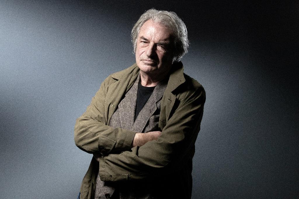 L'écrivain Olivier Rolin, le 2 octobre 2019 à Paris