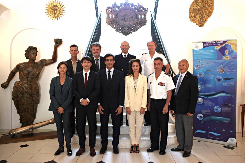 L'équipe de Pelagos s'est réunie à Toulon pour célébrer les 20 ans de l'Accord.