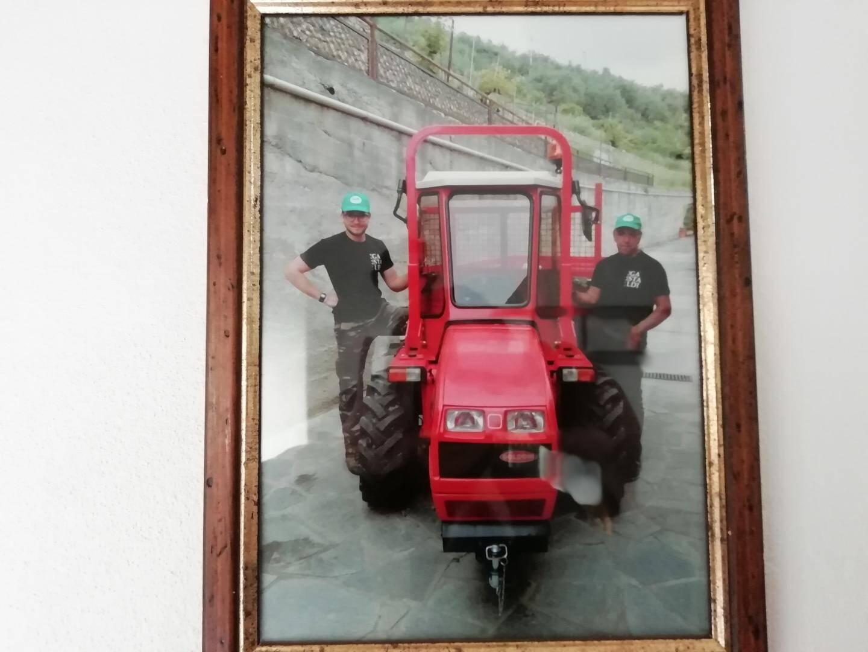 Christian (à gauche) travaille avec son père . En Italie, l'entreprise est souvent une affaire de famille.