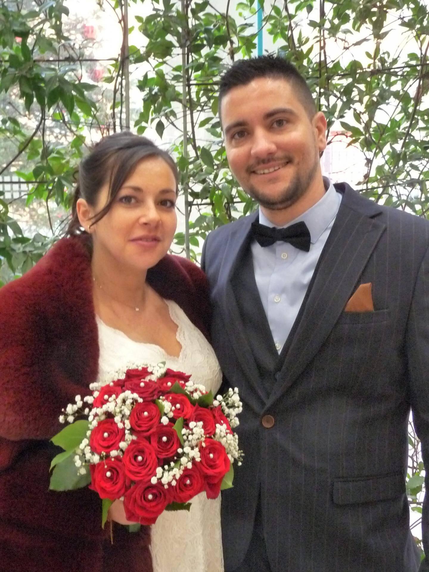 Claire Giordano, vendeuse en boulangerie, et Jérôme Adsuar, technicien.
