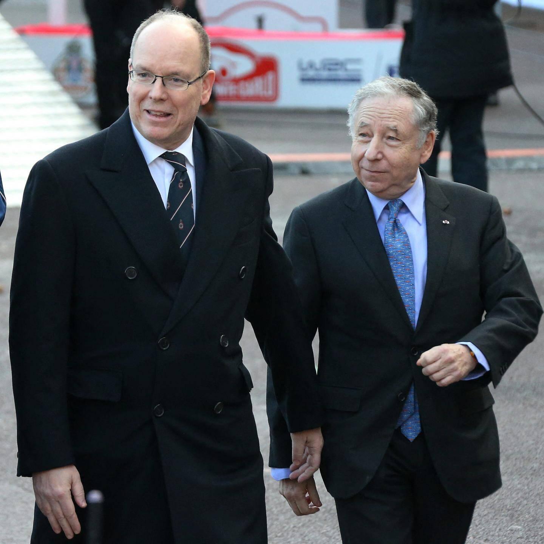 Le prince Albert II et Jean Todt, patron de la FIA.