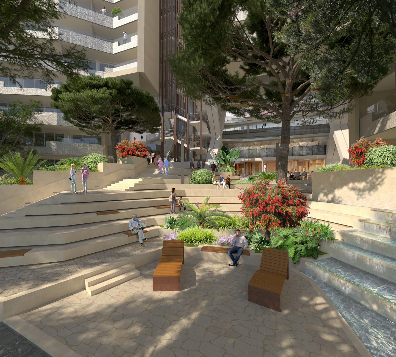Et un nouveau quartier en bas de la rue Plati.