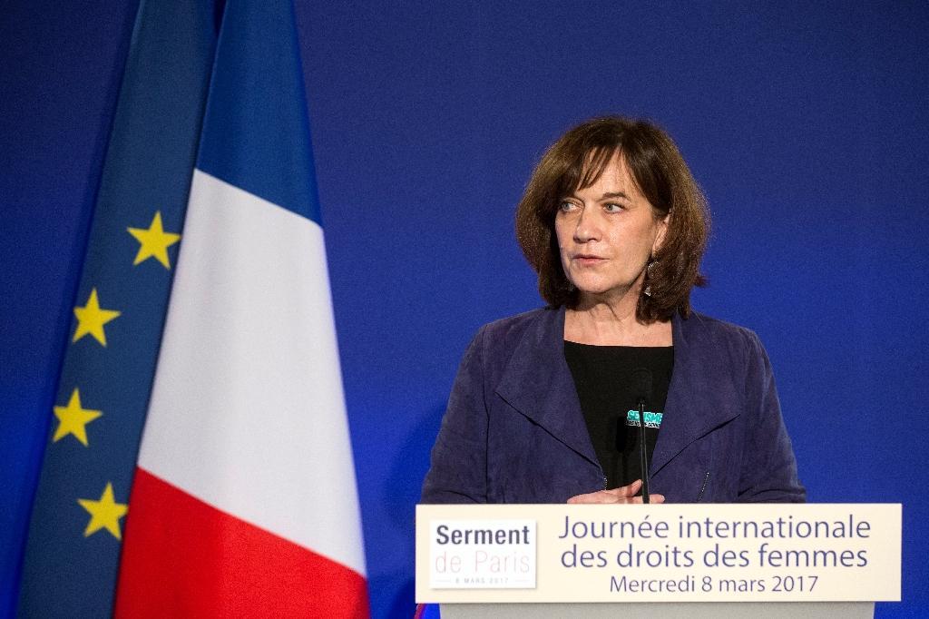 Laurence Rossignol, le 8 mars 2017 à Paris