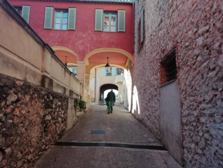 L'intérieur de la citadelle, classée monument historique.