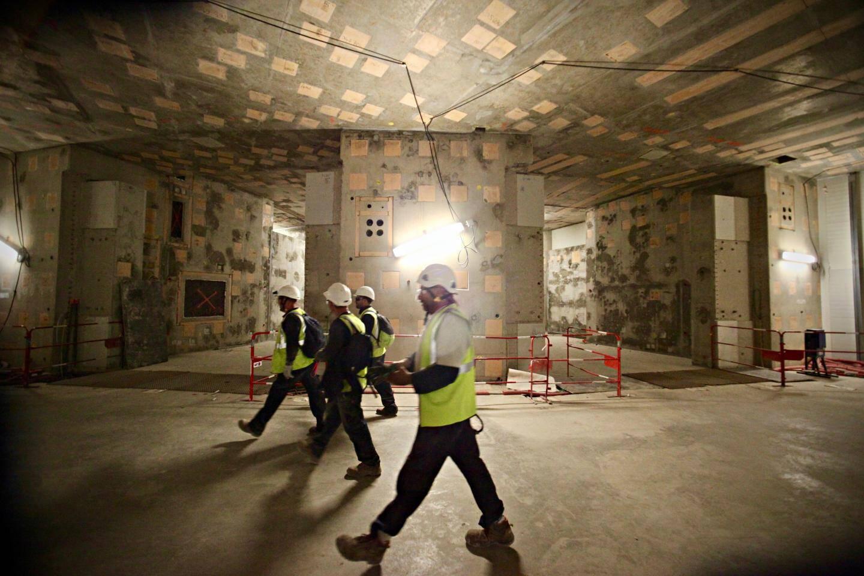Le complexe qui accueillera le tokamak pèsera près de 400.000 tonnes.. Soit un peu plus que l'Empire State Building de New-York.