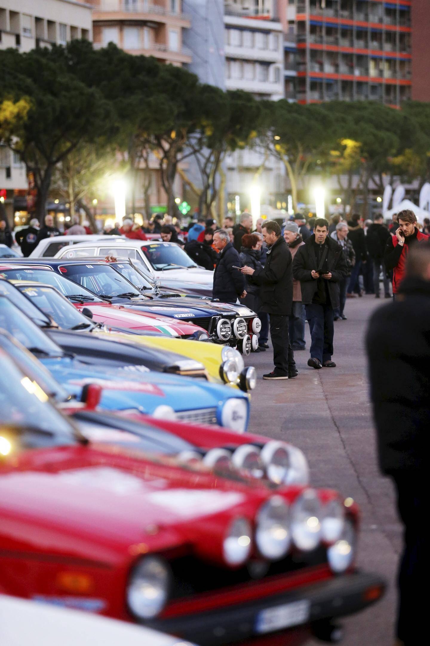 Un véritable musée de l'automobile de compétition à ciel ouvert.
