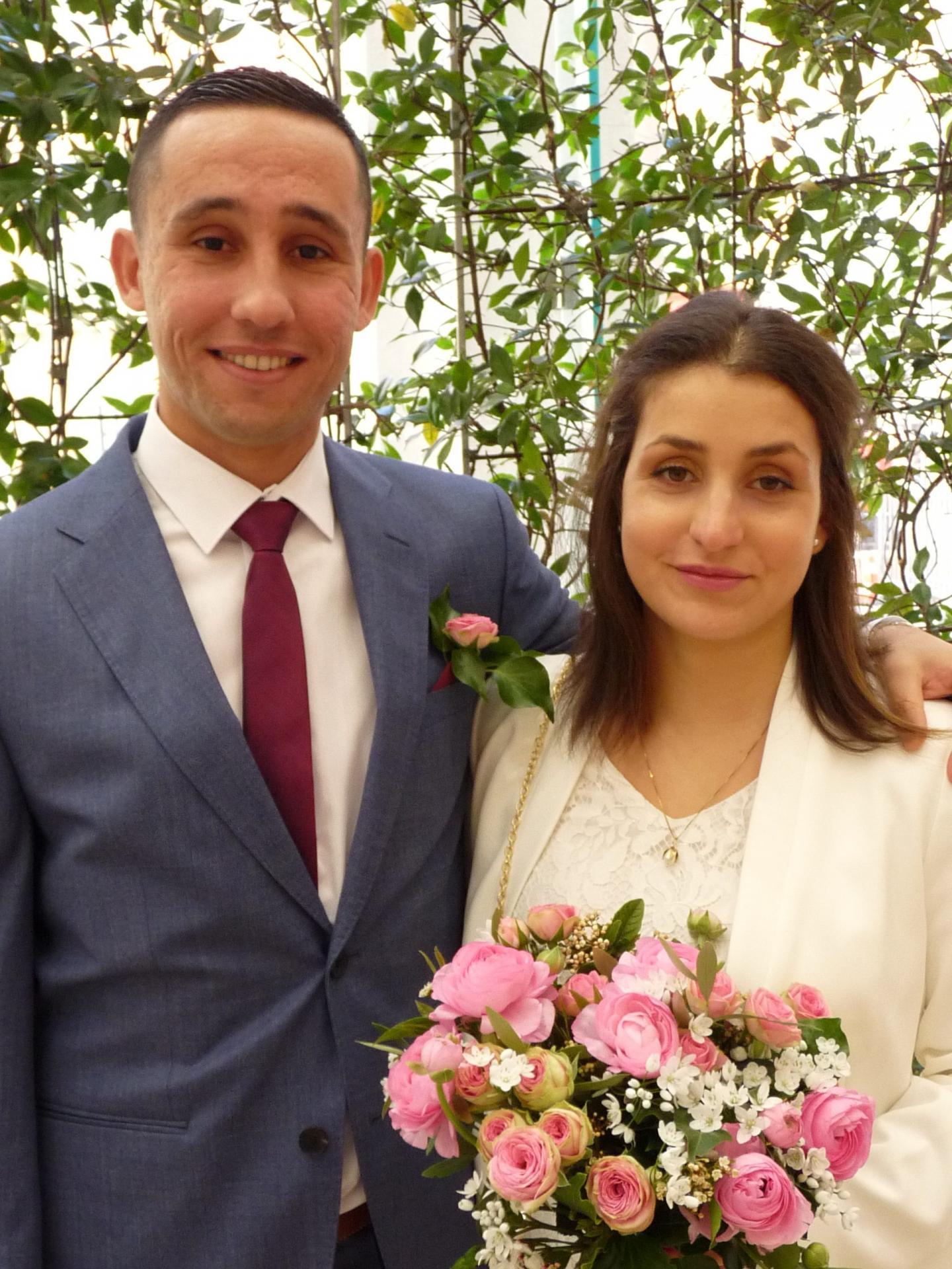 Ahmed et Hélène.