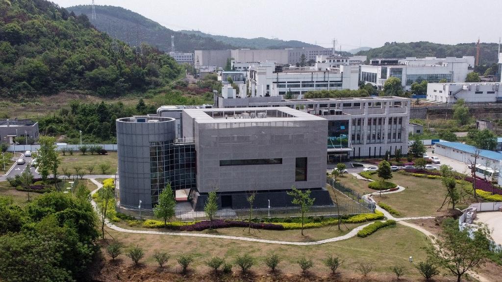 Le laboratoire P4 de l'Institut de virologie de Wuhan, le 17 avril 2020 en Chine