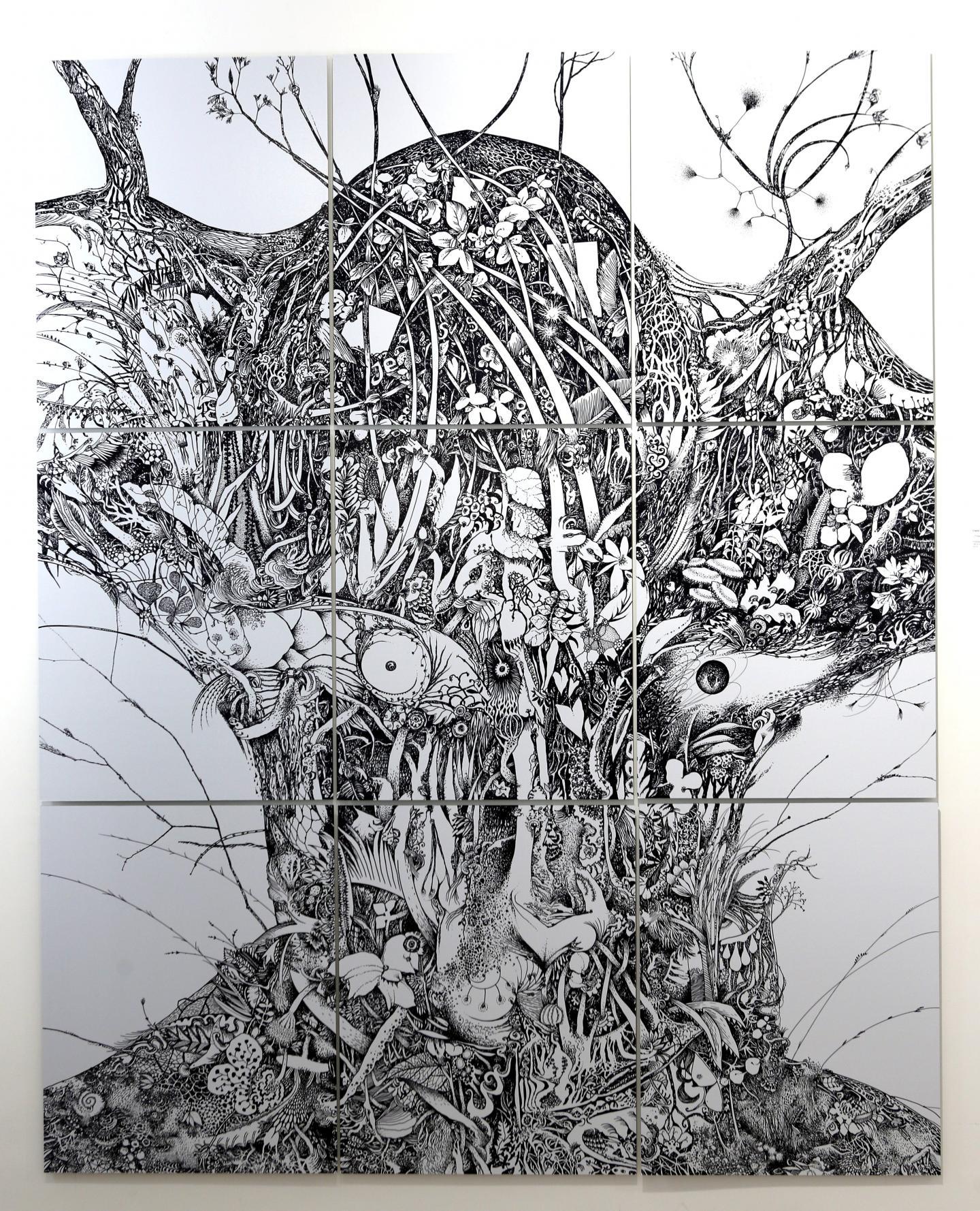 Présence, de Claire Dubreucq