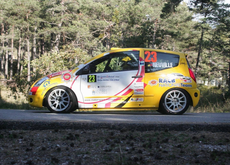 A Antibes, en 2009, cette Citroën C2 R2Max finira au pied du podium (4e). Une prouesse signée Neuville!