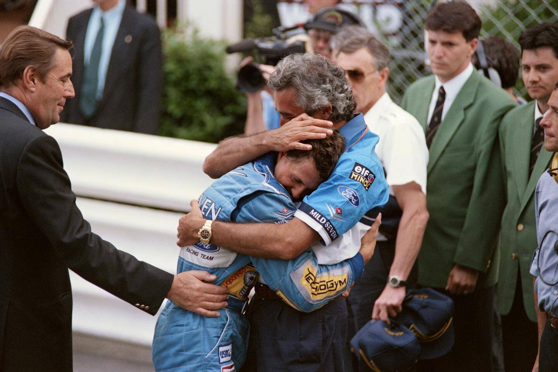 Michael Schumacher en 1994.