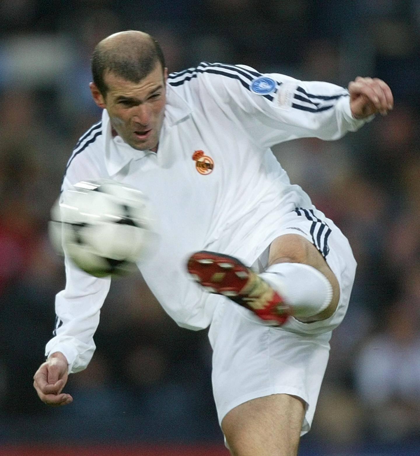 Zinedine Zidane, le 15 mai 2002