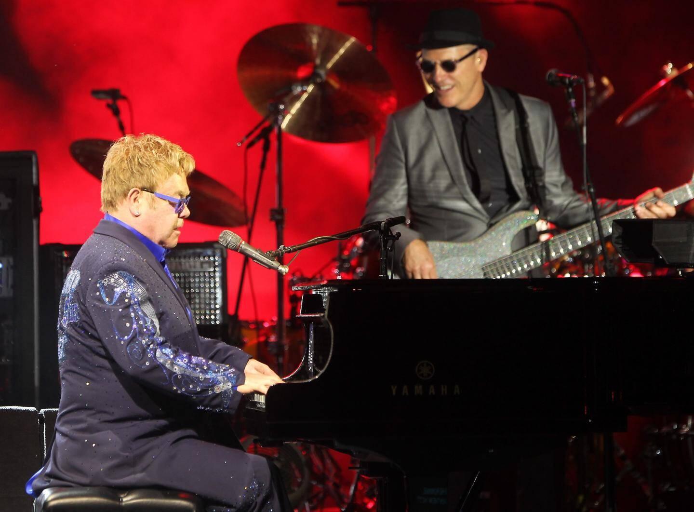 Autre fidèle des lieux, Elton John, lors de son dernier passage en 2015.