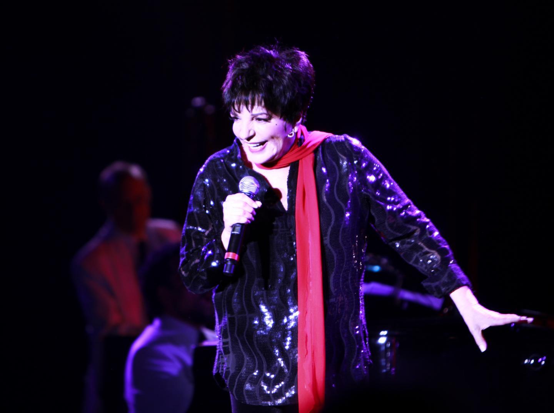 Liza Minnelli en forme en 2011.