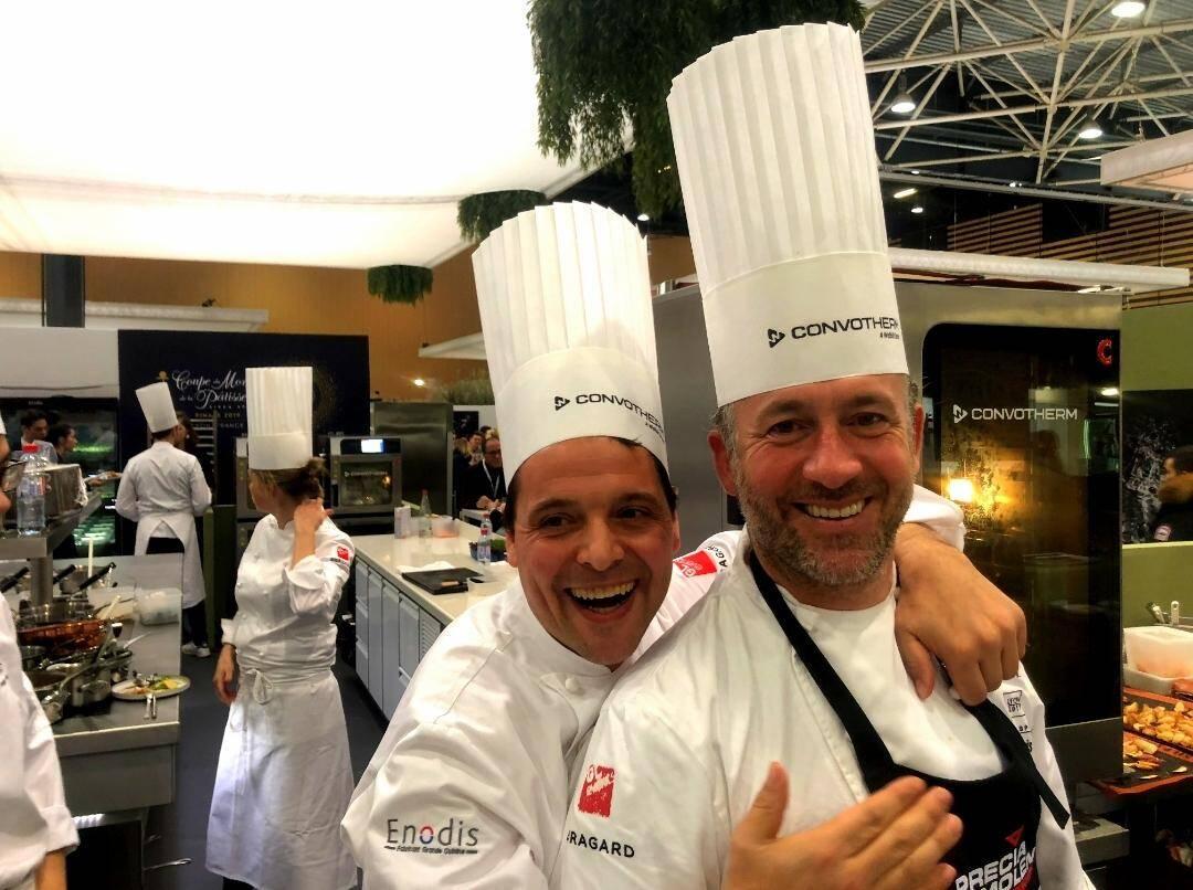 Les chefs Jeff Bérard et Hector Cabello