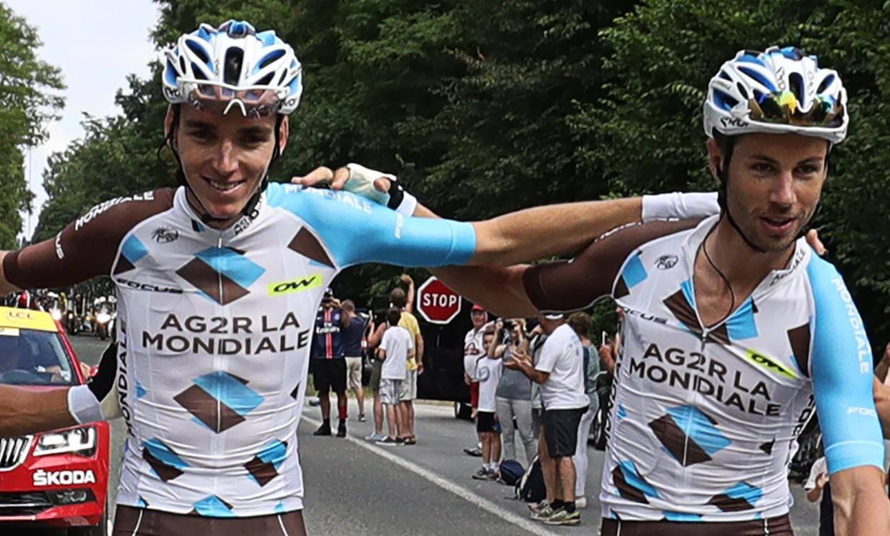 Romain Bardet et Mickael Cherel