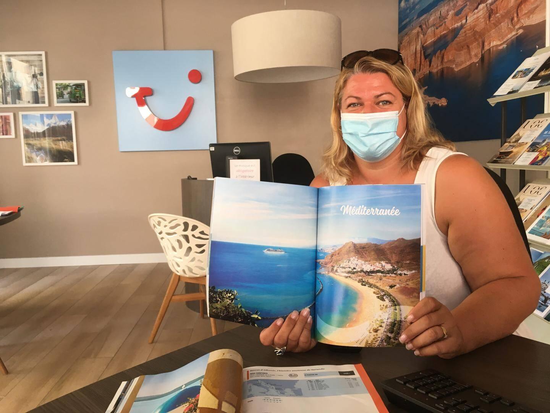 Pour Christelle Gaudin, de l'agence raphaëloise TUI, « la clientèle de croisière est dans l'attente ».