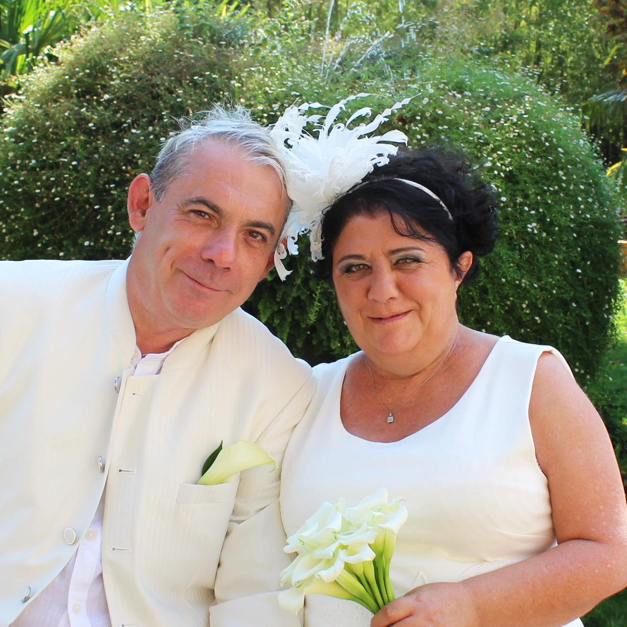 Thierry et Frédérique.