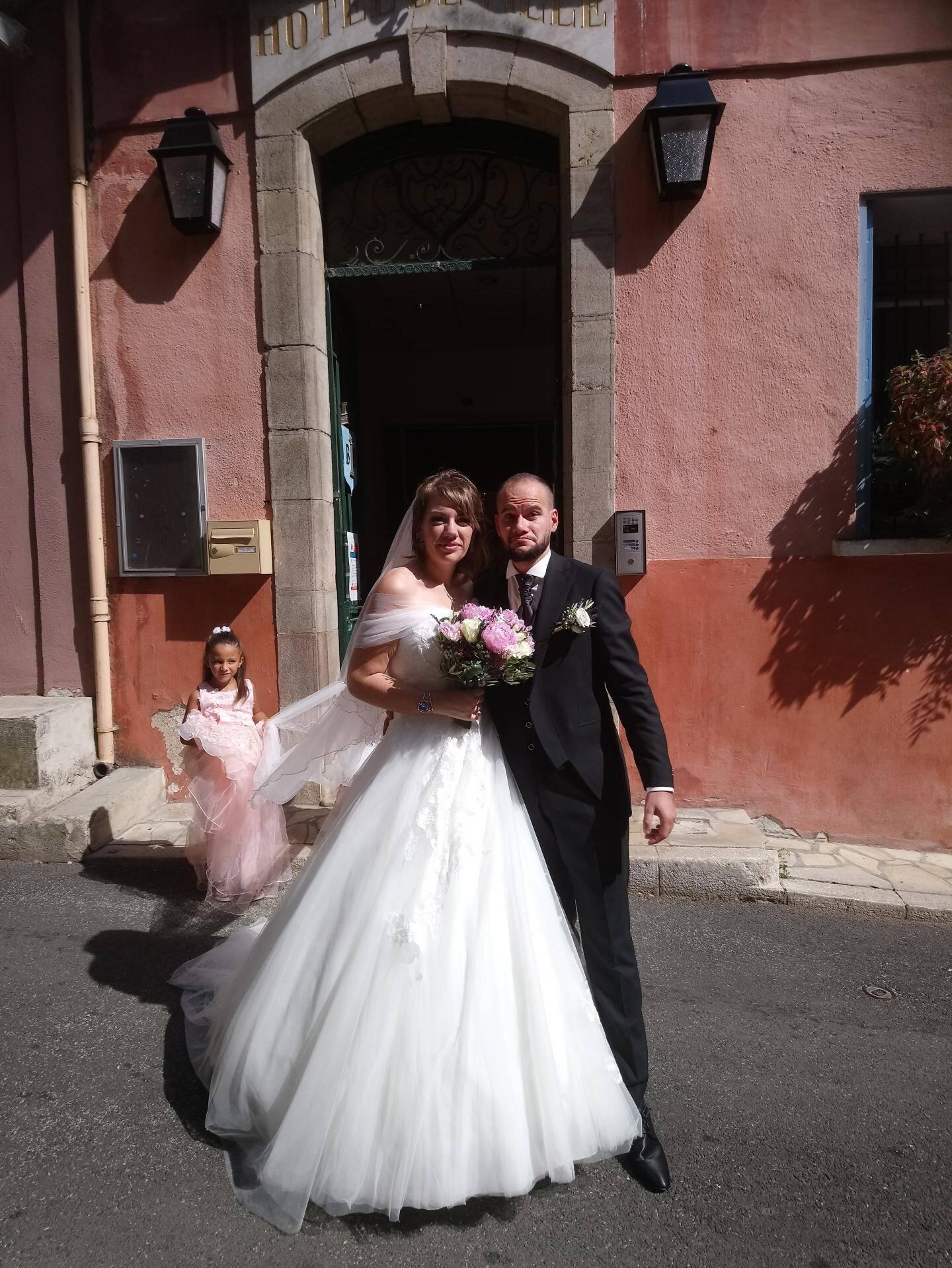 Adeline et Sébastien.