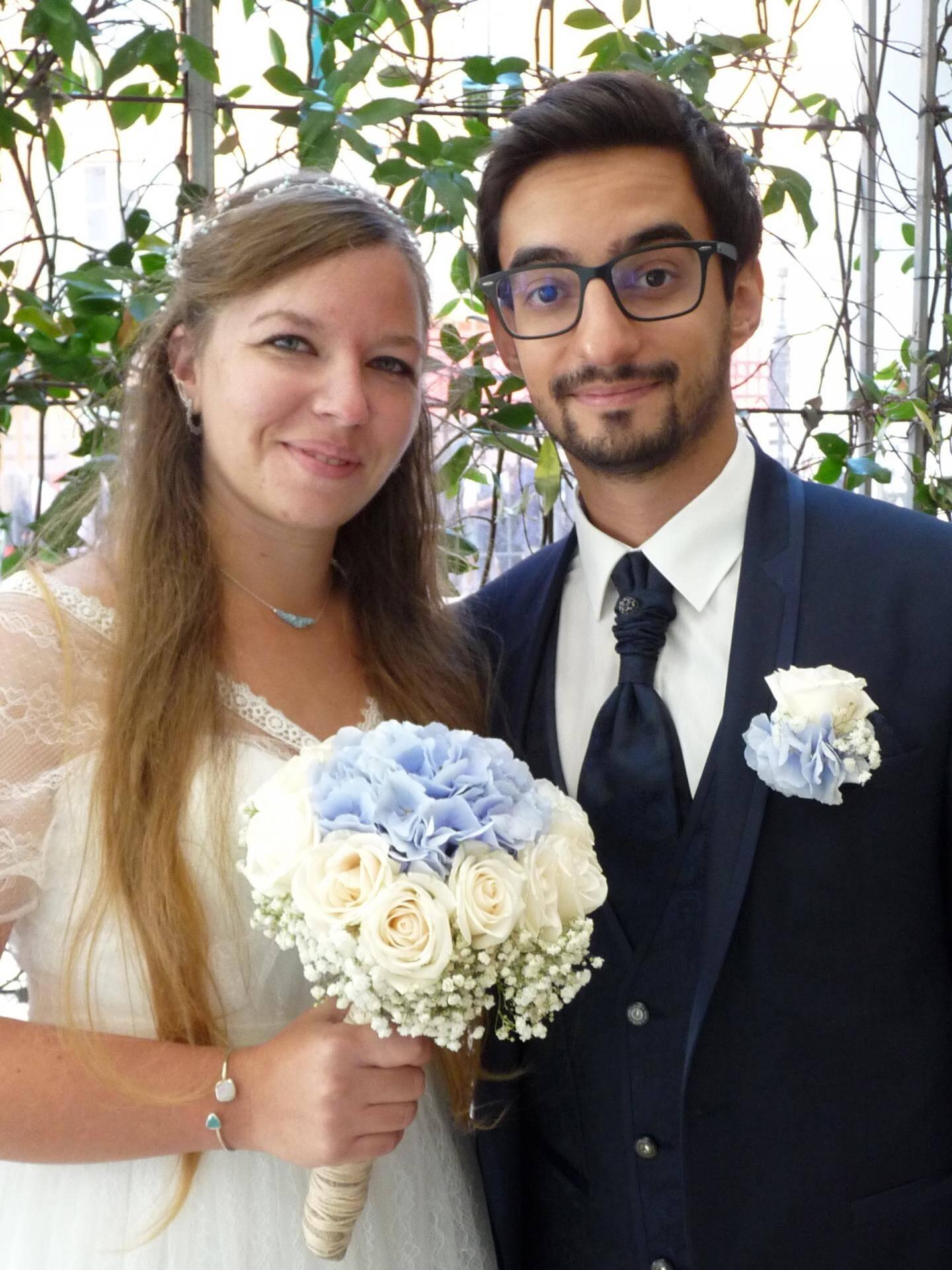 Laura Gourel, comptable et André Dos Santos Oliveira, contrôleur de gestion.
