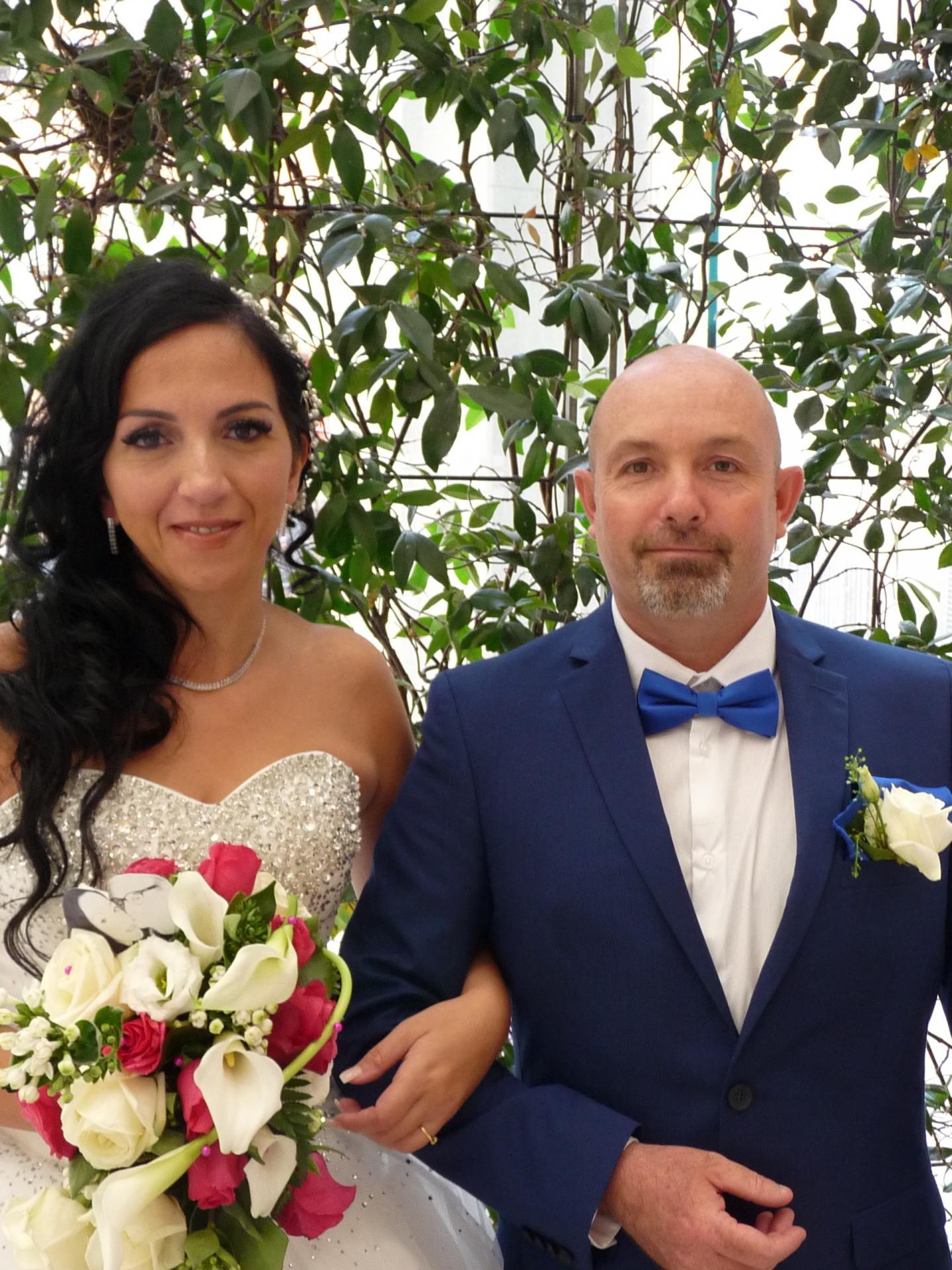 Carine Savalli, télévendeuse en marketing, et Didier Gladel, agent de sureté aéroportuaire.