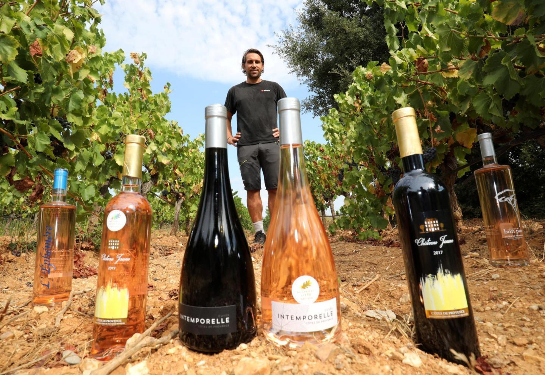 Kevin Lambert, président de la coopérative vinicole du Cellier de La Crau