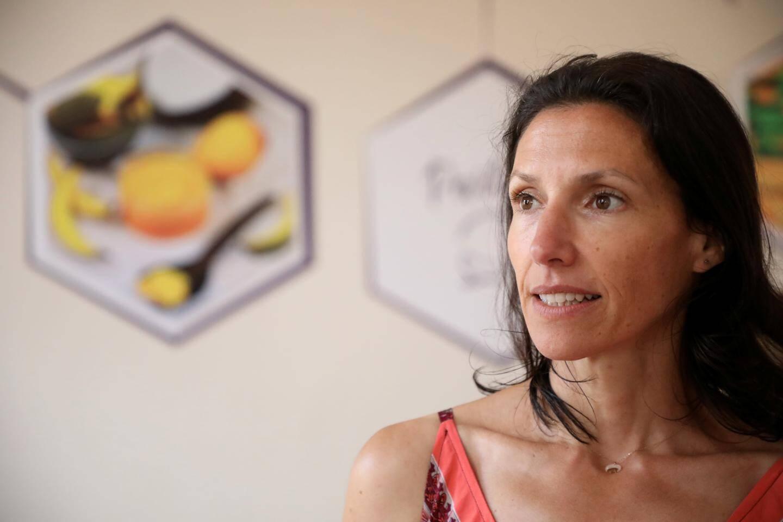 Valérie Vausselin, DG et cofondatrice d'Aroma Zone, Cabrières-d'Avignon.