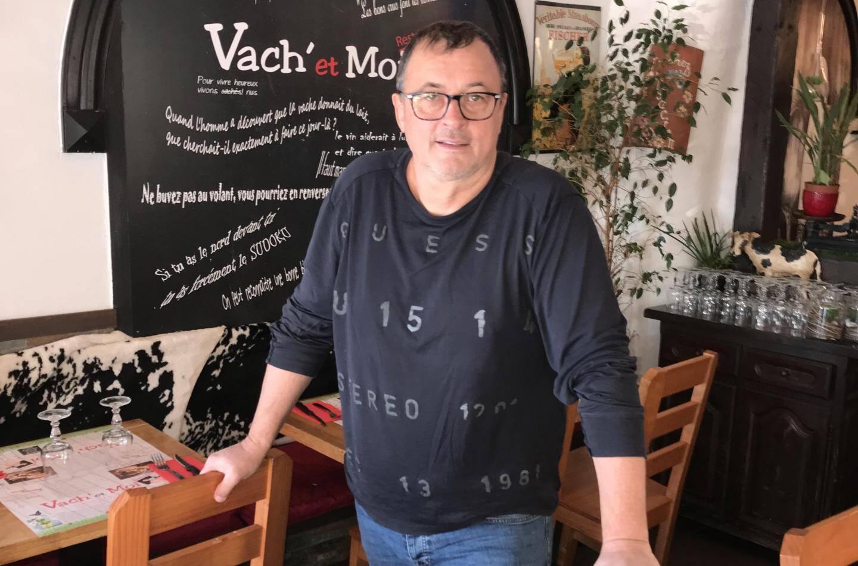 Bernie, restaurateur à Fréjus-plage, ne s'attendait pas un confinement généralisé.